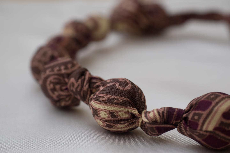 Krawattenkette braun Image