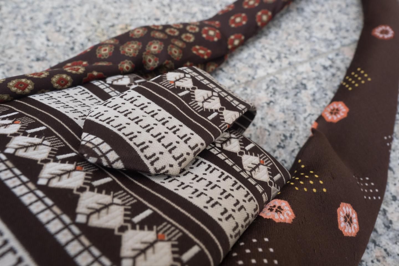 Krawattentäschchen braun Image