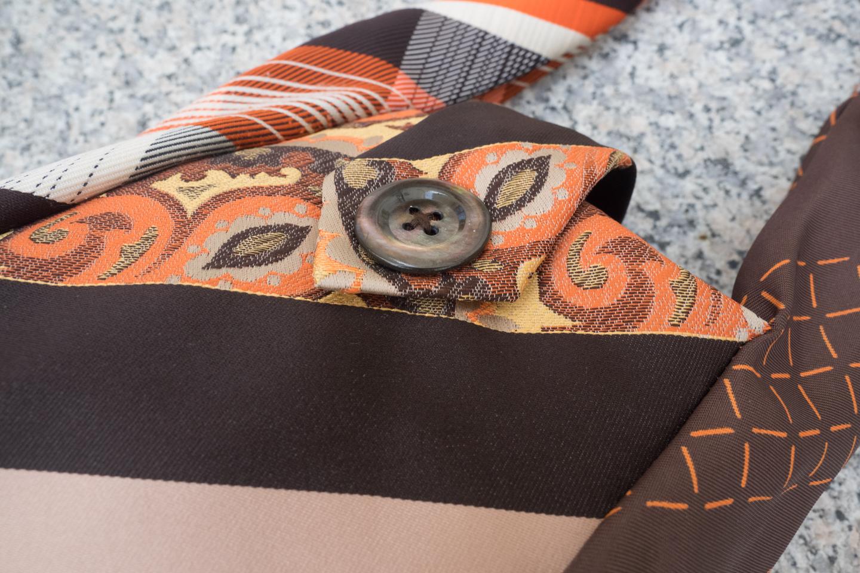 Krawattentäschchen orange Image