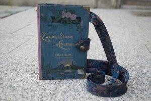 Zwanzig Skizzen und Erzählungen Tasche aus Buch Buchhandtasche