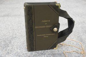 Jahrbuch der Grillparzer-Gesellschaft Tasche aus Buch Buchhandtasche