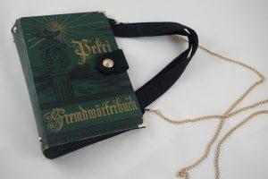 Fremdwörterbuch Tasche aus Buch Buchhandtasche