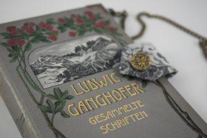 Ganghofer Tasche aus Buch Buchhandtasche