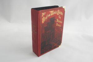 """Clutch aus dem Buch """"Der Graf von Monte Christo"""""""