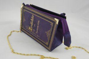 """Lila Tasche aus dem Buch """"Gedichte"""" von Anastasius Grün"""