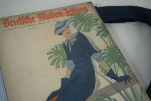 """Große Tasche aus der """"Deutschen Moden-Zeitung"""" der 1930er Jahre"""