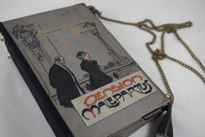 """Tasche aus dem Buch """"Pension Malepartus"""""""