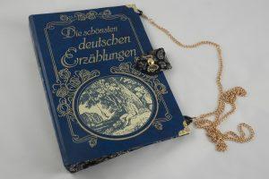 Die schönsten deutschen Erzählungen, Tasche aus Buch, Buchhandtasche