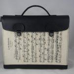 """Aktentasche aus einem Notenblatt von Beethoven """"An Elise"""""""