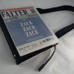 Damentasche aus der Zeitung FALTER - ZACK-ZACK-ZACK Ausgabe vom Mai 2019