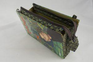 Tasche, Clutch aus einem Harry Potter Buch