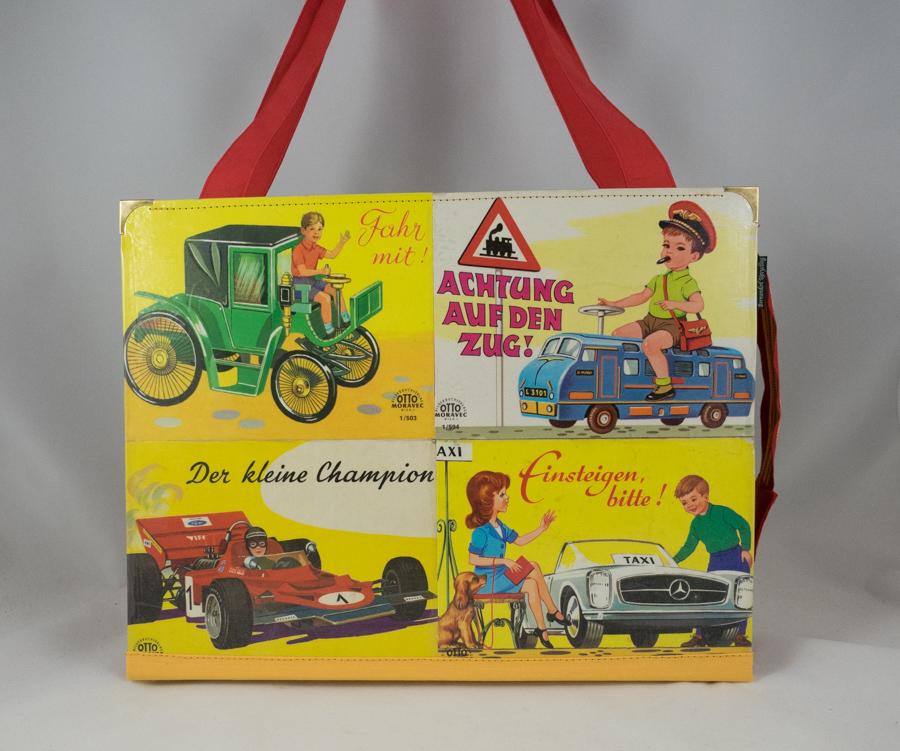 Auto-Kinderbücher Tasche Image