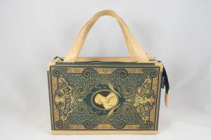 Sehr edle Handtasche aus einem Band von Heine