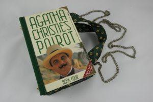 """Tasche aus einem Buch von Agatha Christie """"Poirot"""""""