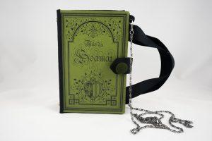 """Tasche aus dem Buch """"Aus da Hoamat"""" in Grün passend zum Dirndl"""
