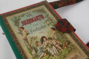 """Tasche aus dem Buch """"Der Jugendgarten"""" von Ottilie Wildermuth"""