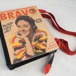Große Tasche aus einem BRAVO vom Jahr 1958 mit Catherina Valente am Cover