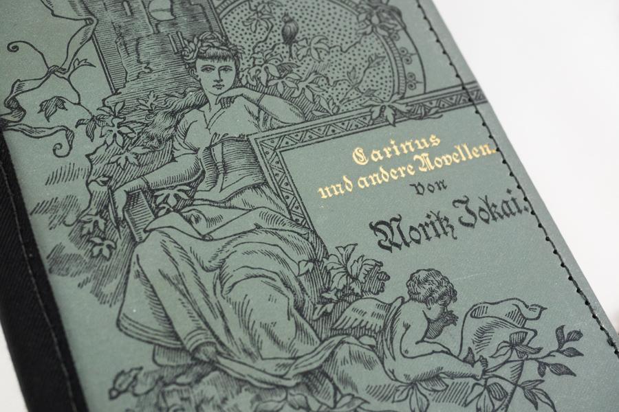 Carinus und andere Novellen von Moritz Jokai Image