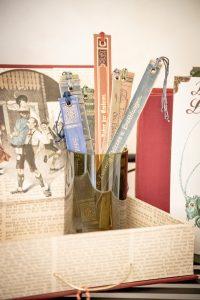 Stilleben in Bernadette Hartls Atelier/Werkstatt von Bernanderl Upcycling