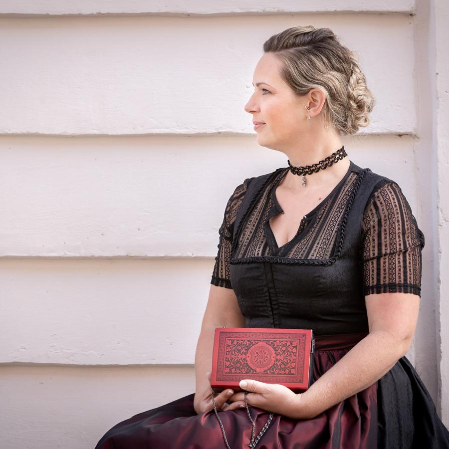 Clutch/Tasche aus Buch Göthe
