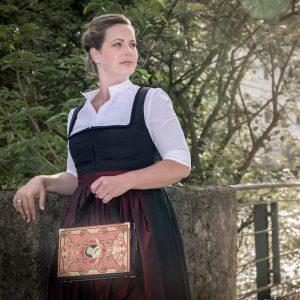 Bernanderl Exklusiv Tasche aus Buch Lenau