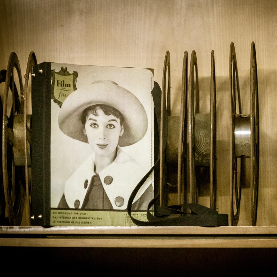 Vintage Tasche aus Magazin Film und Frau