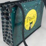 """Tasche aus dem Kinderbuch """"Pitschi"""" kombiniert mit einer passenden Krawatte"""