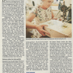 Artikel in der Presse am 11.8.2020 Bernanderl Upycling